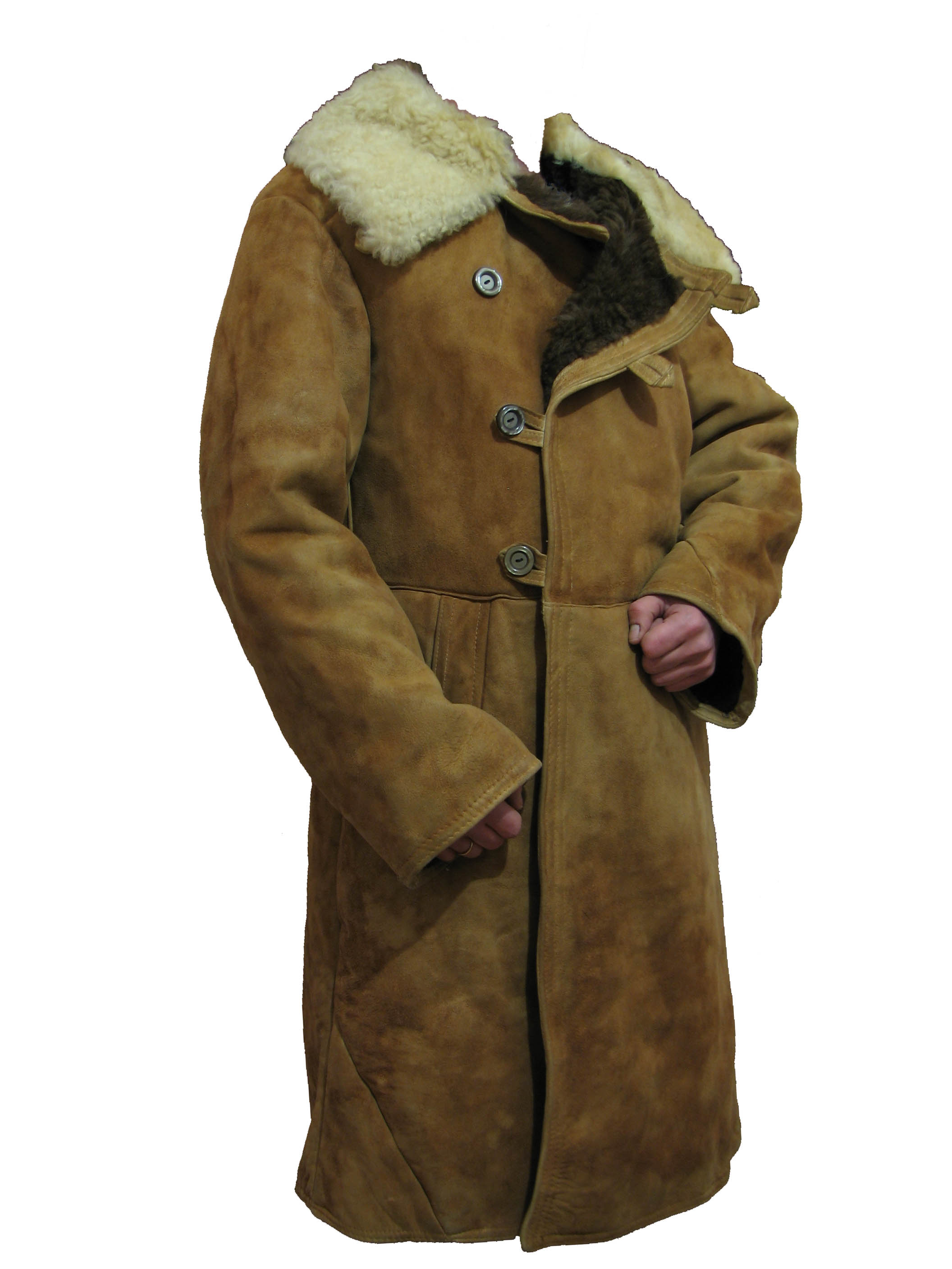 Soviet Sheepskin Coat - Coat Nj
