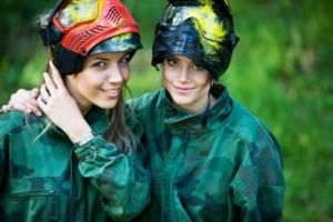 Paintball and airsoft footwear